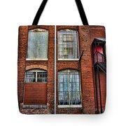 Lowe Mill Art Studio Building Huntsville Alabama Usa Tote Bag