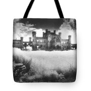 Lowther Castle Tote Bag by Simon Marsden