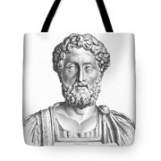 Lucius Commodus (161-192 A.d.) Tote Bag by Granger