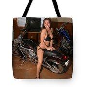 Biker 208 Tote Bag