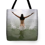 Lucky Cole Biker Outpost On Loop Road In The Florida Everglades 695      Tote Bag