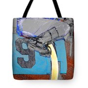 Lucky Number Nine Tote Bag