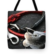 Lucky Red Lead Tote Bag
