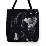 Lucy The Cat Tote Bag