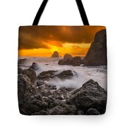 Luffenholtz Winter Sunset 2 Tote Bag