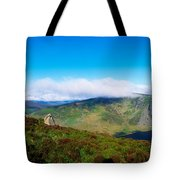 Luggala And Lough Tay, Co Wicklow Tote Bag