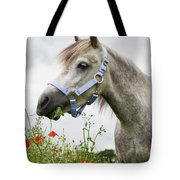 Lulu In The Poppy Field Tote Bag