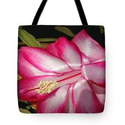 Luminous Cactus Flower Tote Bag