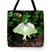 Luna Moths' Afternoon Delight Tote Bag