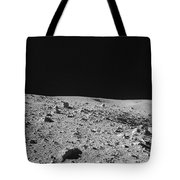 Lunar Surface Tote Bag
