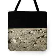 Lunar Surface Tote Bag by Science Source