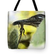 Lunch With A Roadrunner  Tote Bag