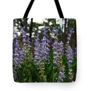 Lupine Patch Tote Bag
