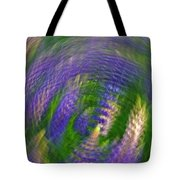 Lupine Swirl Tote Bag