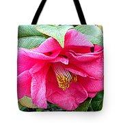 Luscious Pink Hdr Tote Bag