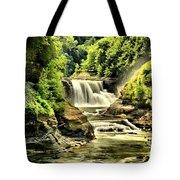 Lush Lower Falls Tote Bag