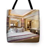 Luxury Bedroom Tote Bag