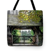 Lychgate To St Paul's Church - Scropton Tote Bag