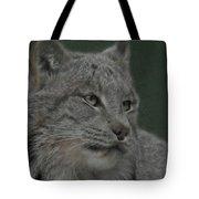 Lynx Painterly Tote Bag