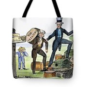 M. Van Buren: Cartoon, 1840 Tote Bag