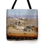M2 Bradley Fighting Vehicle Tote Bag