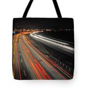 M5 At Night Tote Bag