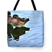 Ma And Pa Wood Duck Tote Bag
