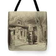 Mabel's Gate As Antique Print Tote Bag