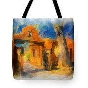 Mabel's Gate Watercolor Tote Bag