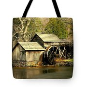 Mabry Mill In Winter Tote Bag