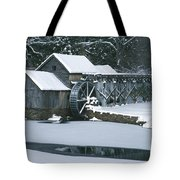 Mabry Mill Winter Tote Bag