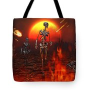 Machines Rise To Take Their Place Tote Bag by Mark Stevenson
