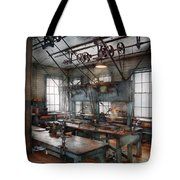 Machinist - Steampunk - The Contraption Room Tote Bag