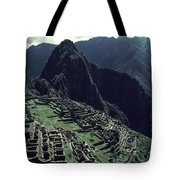 Machu Picchu, A Pre-columian Inca Ruin Tote Bag