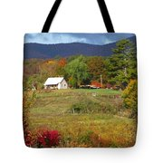 Mack's Farm In The Fall 2 Filtered Tote Bag