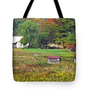 Mack's Farm In The Fall Tote Bag