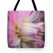 Macro Flower Profile Tote Bag