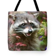 Mad Raccoon Tote Bag