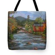Mad River And Campton Bridge Tote Bag