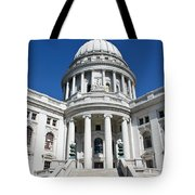 Madison Capitol Building Tote Bag