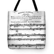 Madison: Inauguration Tote Bag