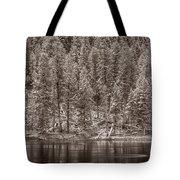Madison River Yellowstone Bw Tote Bag