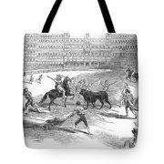 Madrid: Bullfight, 1846 Tote Bag