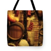 Madrid Food And Wine Still Life II Tote Bag