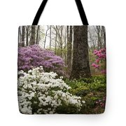 Magical Azaleas At Callaway Botanical Gardens Tote Bag