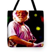 Magical Jerry Garcia Tote Bag