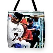 Magical Joe Mauer Tote Bag