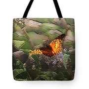 Magical Places For Butterflies Tote Bag