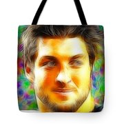 Magical Tim Tebow Face Tote Bag