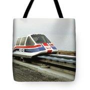 Magnetic Levitation Train Tote Bag